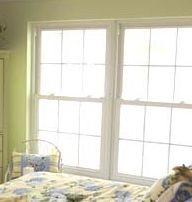 Double hung windows should be open easily and smoothly