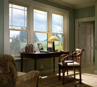 Energy efficient Simonton vinyl windows