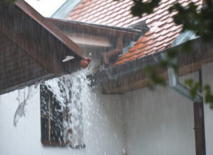 Heavy Rain on Roof