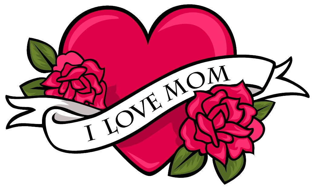 Vector-graphics-i-love-you-mom